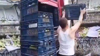 Kasalarca kabağı çöpe atan yabancı uyruklu şüpheli sınır dışı edilecek