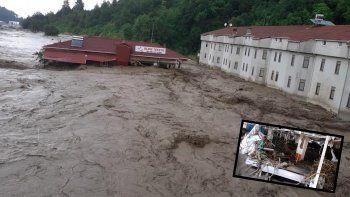 Sel felaketinde uyarıyı dinledi 100 kişinin hayatını kurtardı