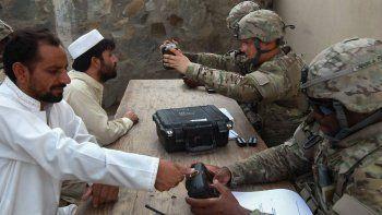 Silah ve uçakların yanı sıra Taliban ABD'nin biyometrik verilerini ele geçirdi