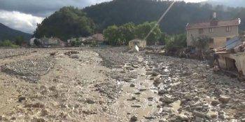 Sinop´ta felaket: Selin ardından Babaçay köyünün son hali