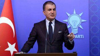 Son dakika: AK Parti Sözcüsü Ömer Çelik: Türkiye bir toplama kampı, göçmen kampı değildir