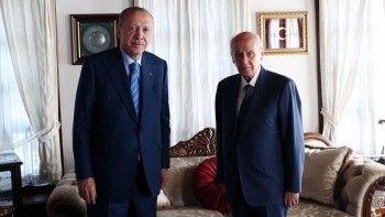 Son dakika! Cumhurbaşkanı Erdoğan'dan Bahçeli'ye sürpriz ziyaret