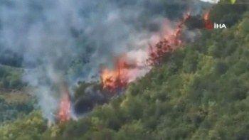 İstanbul'da korkutan yangın: Kısa sürede söndürüldü
