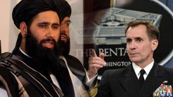 Son dakika! Pentagon'dan Taliban'a cevap gecikmedi: Tahliye tarihinde bir değişiklik yok