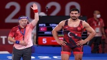 Taha Akgül olimpiyat madalyası kazandı mı? Tokyo 2020 Taha Akgül güreş müsabaka sonucu