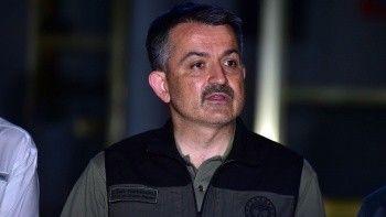 Tarım ve Orman Bakanı Pakdemirli, orman yangınlarına ilişkin son durumu paylaştı