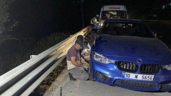 TEM otoyolunda ilginç olay: Birçok aracın lastiği aynı anda patladı