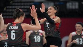 Tokyo 2020 Türkiye Güney Kore voleybol maçı kaç kaç bitti? Türkiye Güney Kore voleybol çeyrek final sonucu