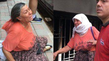 Torununun yaktığı evi gözyaşlarıyla izledi: Sürekli tehdit ediyordu