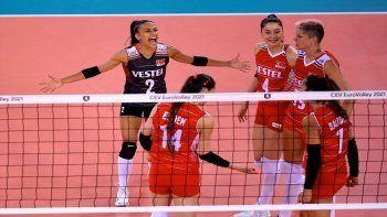 Türkiye Çekya voleybol maçı kaç kaç bitti? Türkiye Çekya voleybol maç sonucu