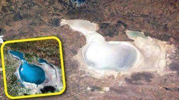 Tuz Gölü kurudu: Suyu gitti tuzu kaldı