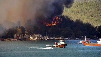 Yangın bölgesinde rezervasyonların yüzde 10'u iptal