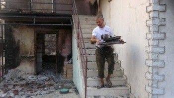 Yangının bize gelmesini beklemiyordum: Arkadaşına yardım ederken kendi evi kül oldu