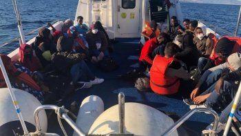 Yunanistan ölüme terk etti, Türk Sahil Güvenliği kurtardı