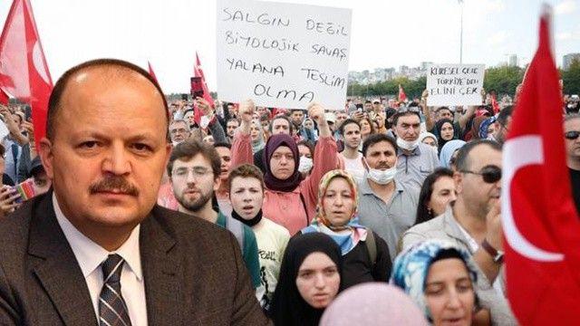 'Aşı karşıtlarına izin vermeyen Maltepe Kaymakamı sürüldü' iddialarına cevap