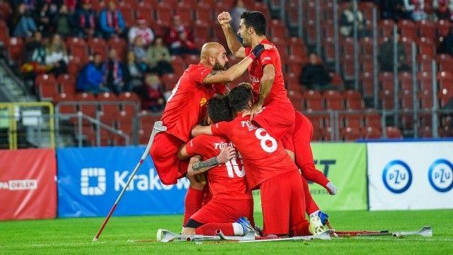 Ampute Futbol Milli Takımı üst üst 2. kez Avrupa Şampiyonu!