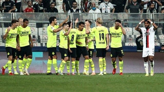 Beşiktaş, Borussia Dortmund'a direnemedi! UEFA Şampiyonlar Ligi   Maç Sonucu: 1-2
