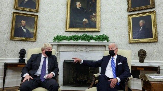 Boris Johnson ve Joe Biden bir araya geldi