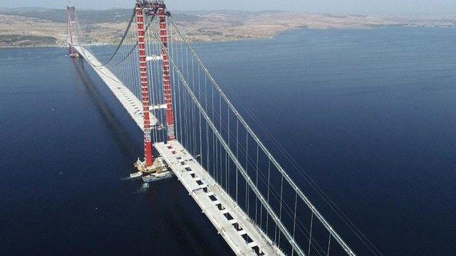 Çanakkale Köprüsü'nün geçiş ücreti belli oldu