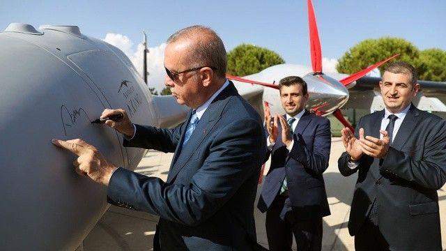 Cumhurbaşkanı Erdoğan'ın özel mesajı, AKINCI TİHA'nın yazılımına eklendi
