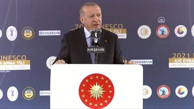 Cumhurbaşkanı Erdoğan'dan enflasyon mesajı: Fahiş fiyatı durduracağız