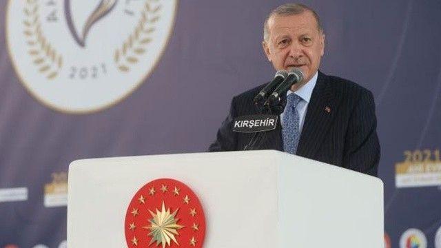 Cumhurbaşkanı Erdoğan: Yeni hizmet binamız Kırşehir siyasetine hayırlı olsun