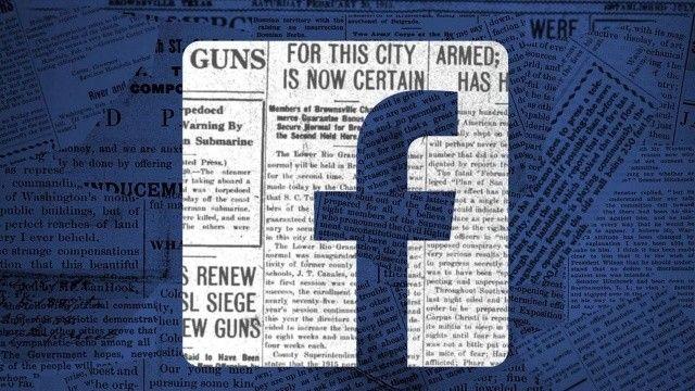 Facebook gazeteciliği bitirmek ile suçlanıyor