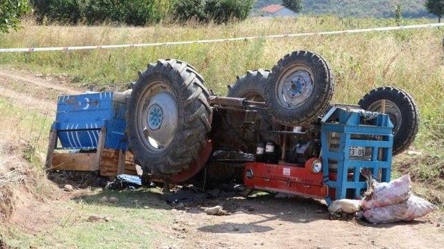 Feci kaza: Traktörün altında can verdi