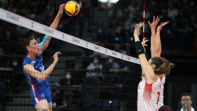 Filenin Sultanları, yarı finalde Sırbistan'a direnemedi! Maç sonucu: 3-1