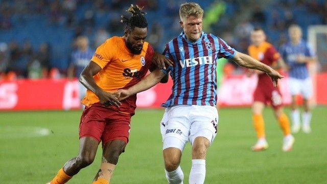 Galatasaray ile Trabzonspor'u yenişemedi! 2-2