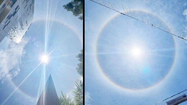 Güneşin çevresindeki gizemli halka herkesi şaşırttı