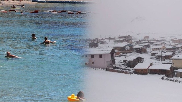 Bodrum'da yaz, Doğu'da kış