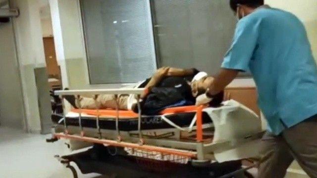 İnşaat sırasında dinamit patladı 2 işçi yaralandı