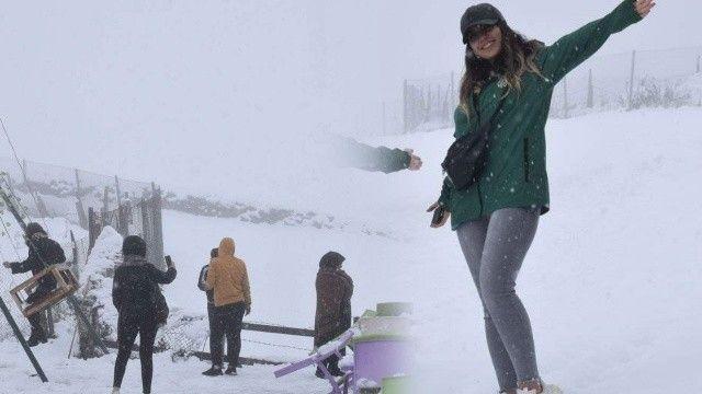 Kar kalınlığı 30 santimetreyi buldu: Her yer beyaza büründü