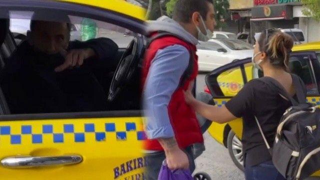 Kısa mesafeyi beğenmedi: Yolcuya meydan okuyan taksiciye ceza