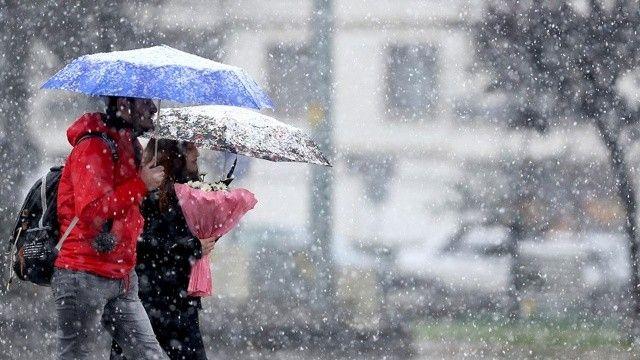 Meteoroloji'den 3 il için uyarı: Kar geliyor
