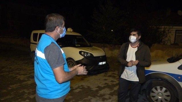 Polise yakalanan koronalı genç: Abarttınız