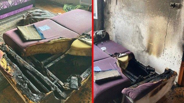 Prizde bırakmadan önce bir daha düşünün: Patlayan Powerbank evi yaktı