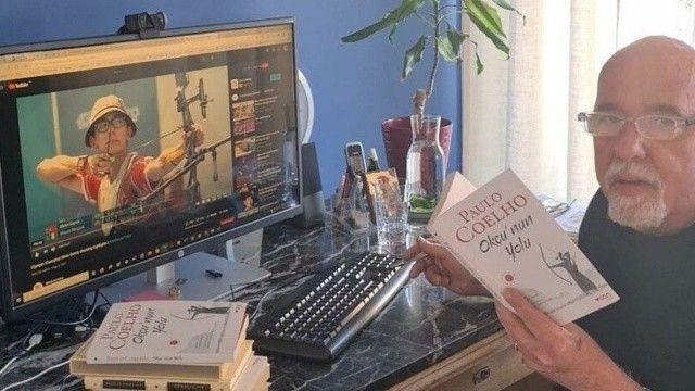 Simyacı'nın yazarı Coelho, yeni kitabını Mete Gazoz'a adadı