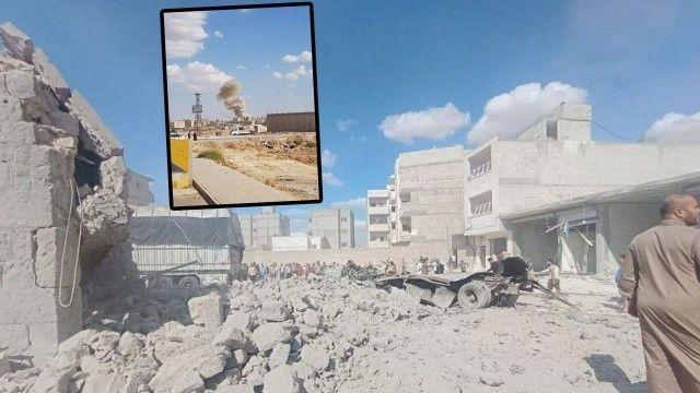 Suriye El-Bab'da bomba yüklü araç patladı: 7 yaralı