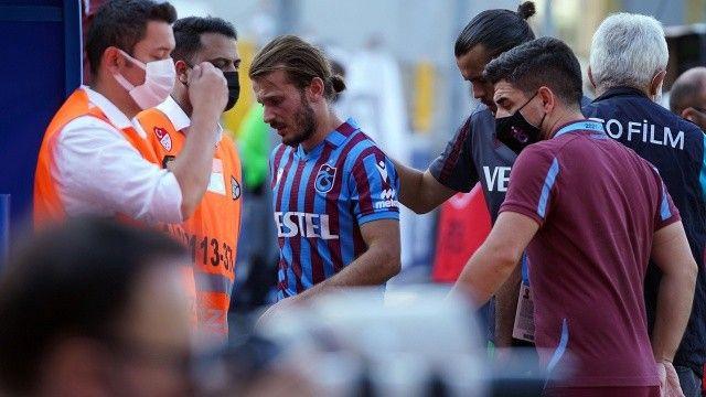 Trabzonspor'da Abdulkadir Parmak ve Dorukhan Toköz'ün MR'ı çekildi