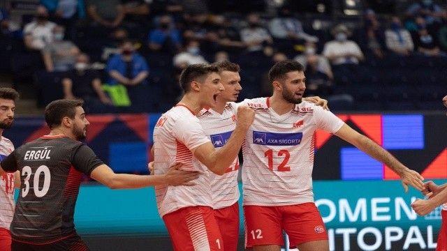 Filenin Efeleri 3'te 3 yaptı! Türkiye Kuzey Makedonya voleybol maç sonucu: 3-0