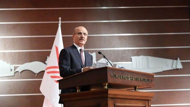 YÖK Başkanı Özvar, aşılamada son durumu paylaştı