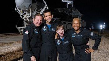 'Uzay Turistleri'nin yolculuğu başladı