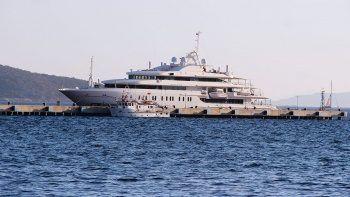 118 milyon dolarlık yüzen saray Bodrum'da