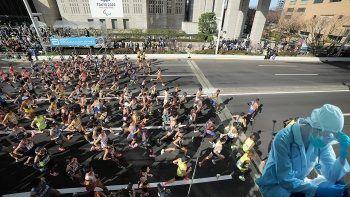 2020 olimpiyatlarının ev sahibi Tokyo'da maratona koronavirüs engeli