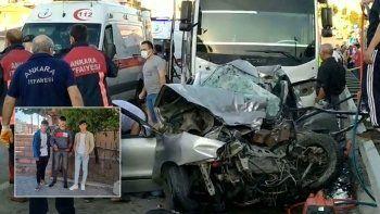 5 kişinin öldüğü kazadan geriye yürek burkan fotoğraf ve not kaldı