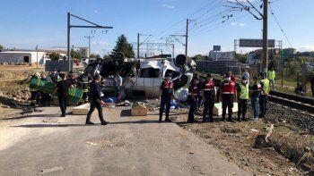 6 kişinin öldüğü tren kazasında makinistten akıl almaz paylaşım