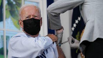 ABD Başkanı Biden 3'üncü doz aşısını oldu