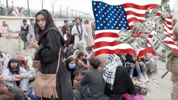 Afgan halkı ABD'nin el koyduğu parayı istiyor